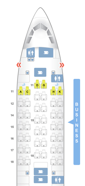 Cathay Seatmap