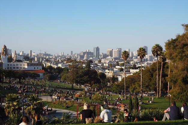 Mission Dolores Park - Travel Blog