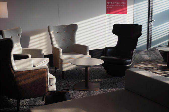 Swiss Air Business Lounge Zurich