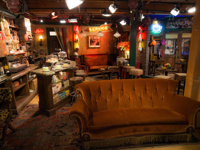 The TV Set of Friends