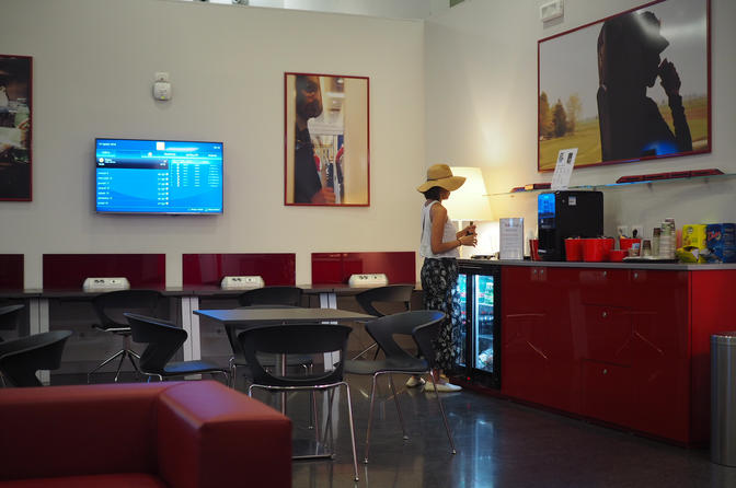 Italo Business Class Club Lounge