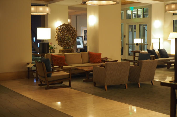 Intercontinental The Clement Monterey Lobby