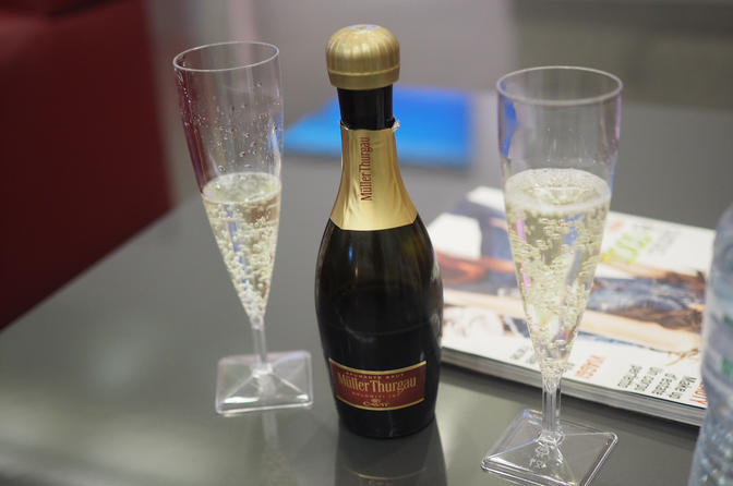 Italo Business Class Club Lounge Champagne