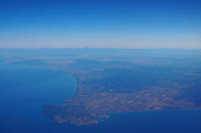 Aerial views of Italy
