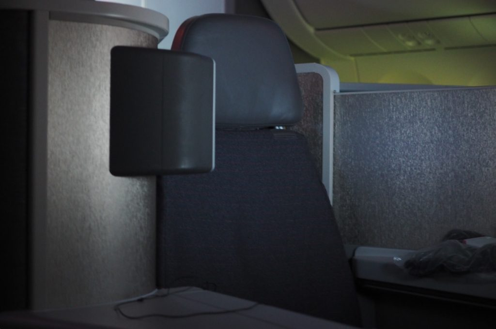 AA 787 First Class Middle Seat (Rear-Facing)