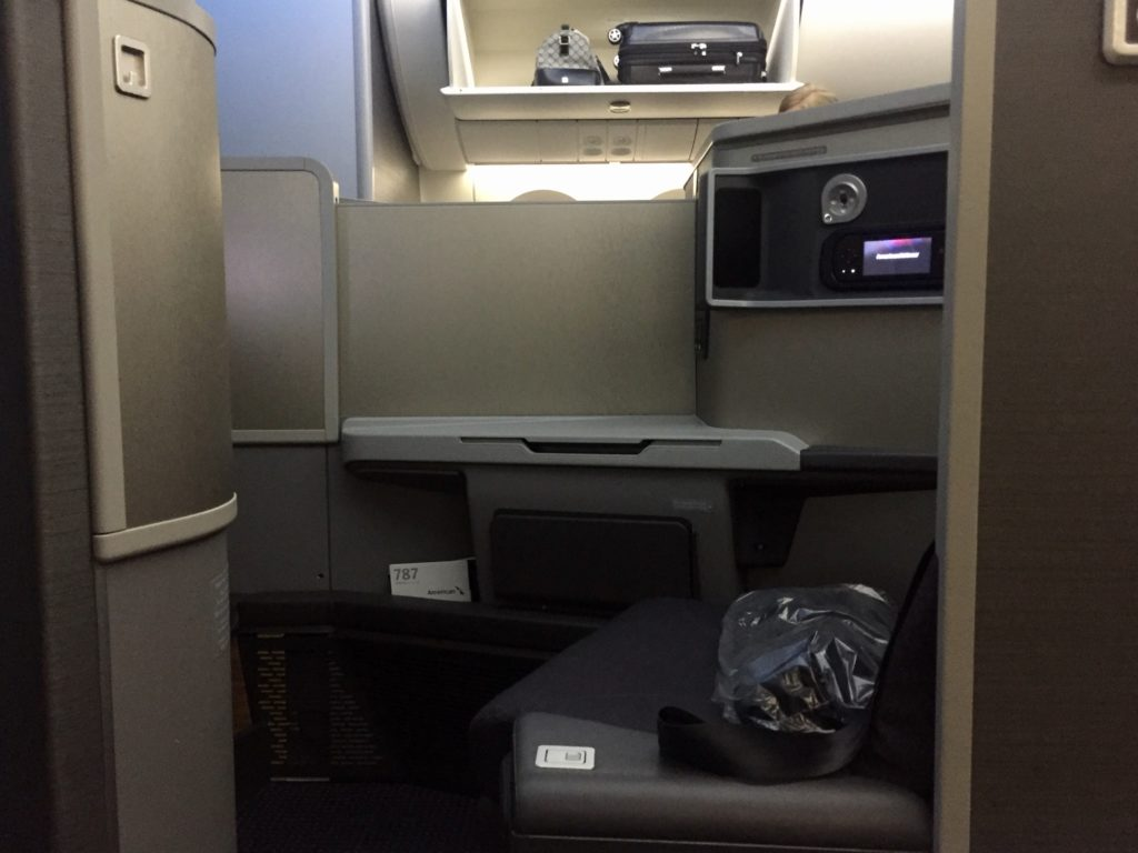 AA 787 Middle Seats