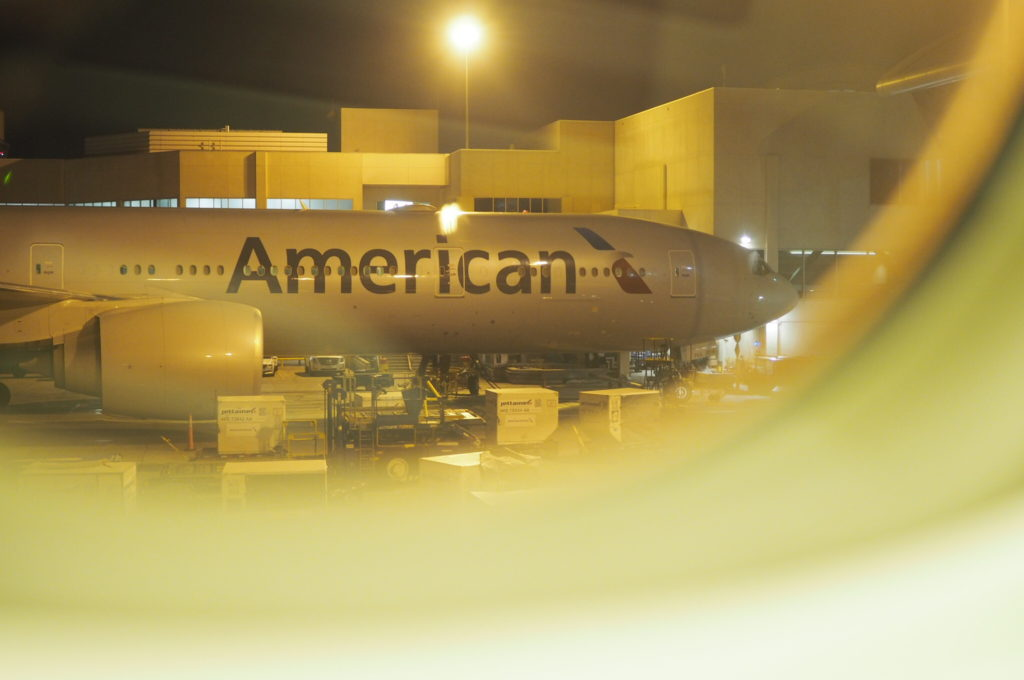 American Airlines - Taxi at LAX