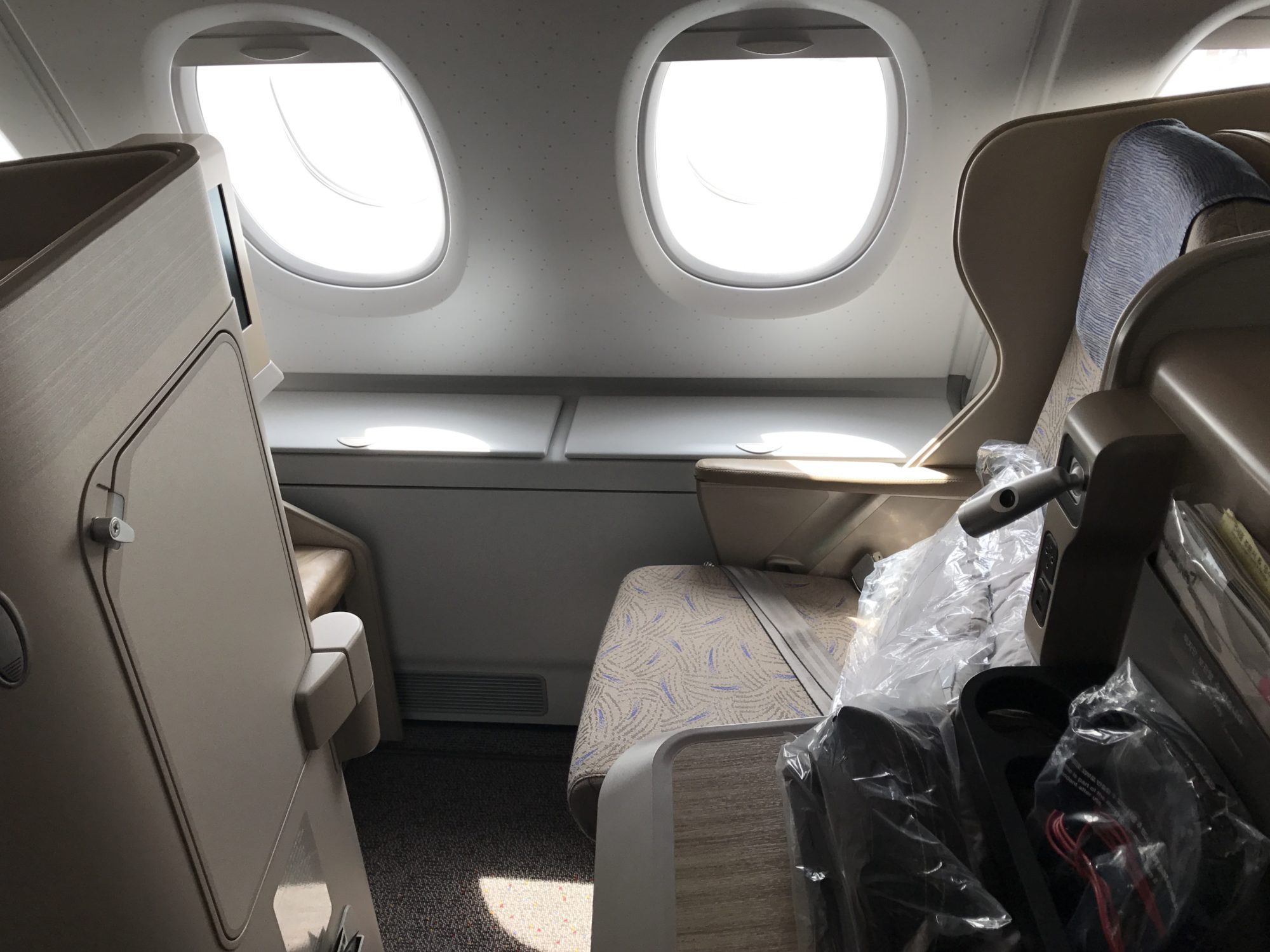 Asiana Business Class Window Seat 10K