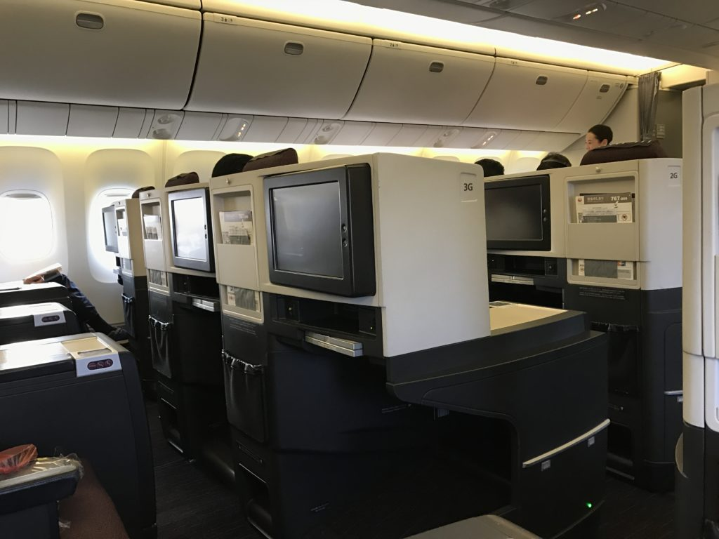 JAL BC Cabin 767
