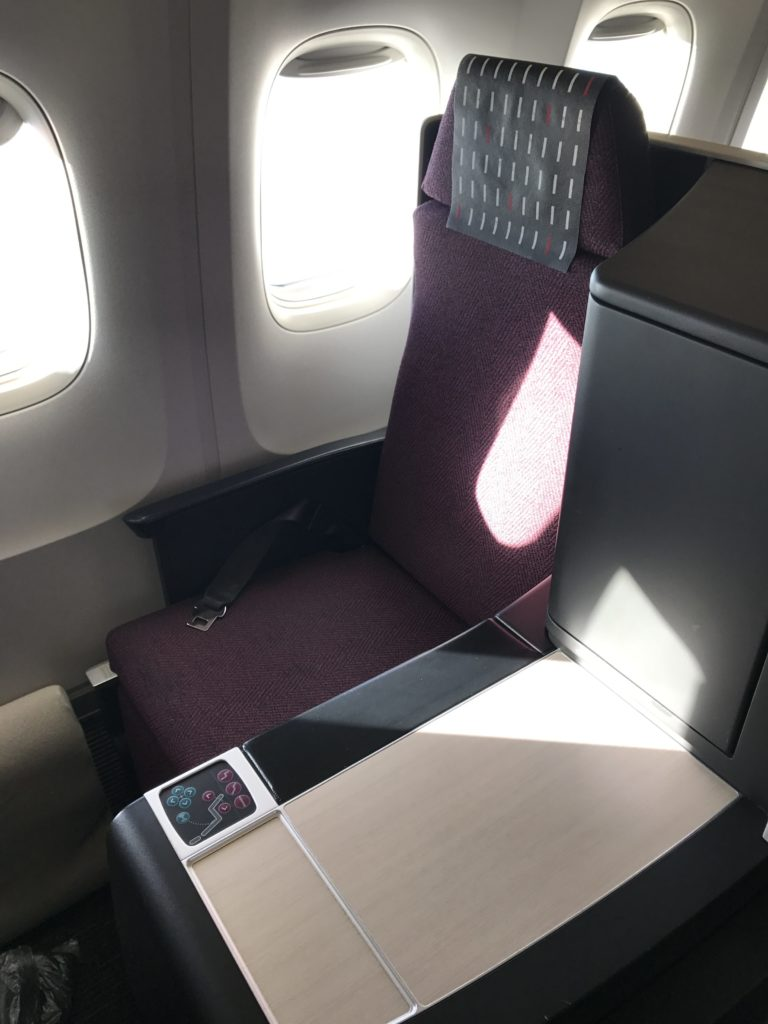 JAL BC Seat 4K