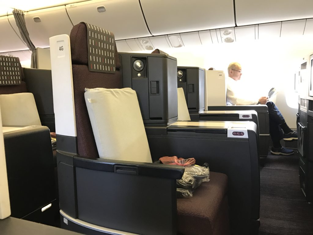 JAL Business 767 Middle Seats