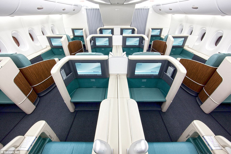 Korean Air First Class A380