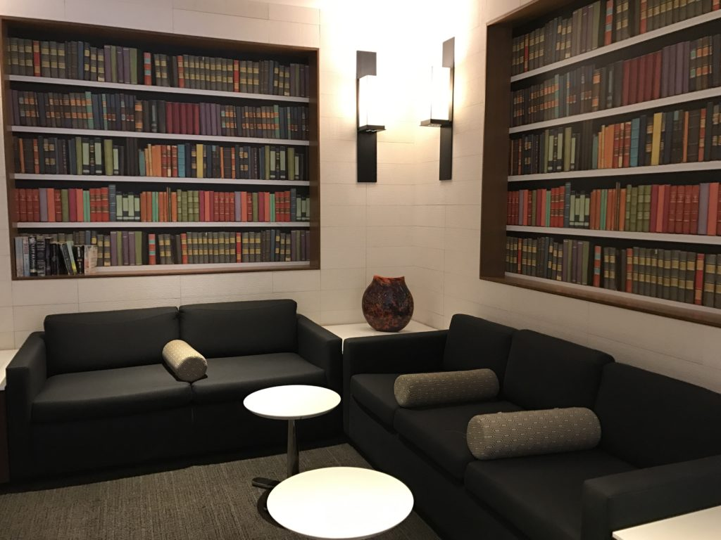 LAX Star Alliance Lounge Library