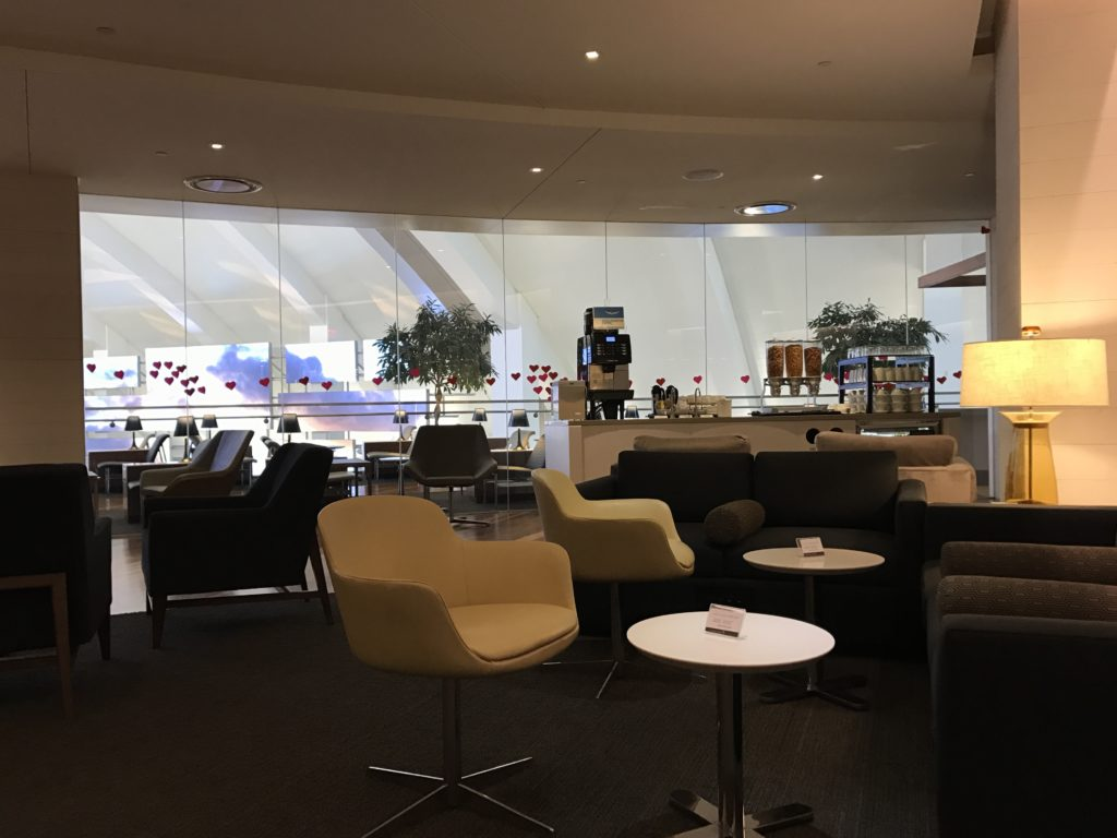 LAX Star Alliance Lounge Sitting Area