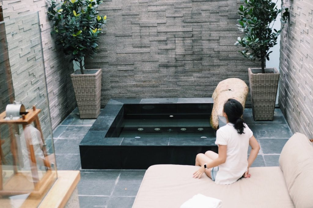 In-room Japanese Onsen Experience