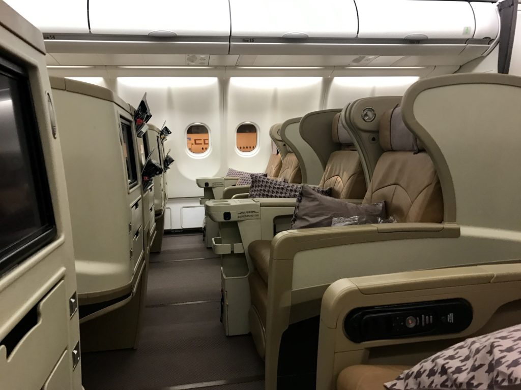 SQ Business Class A330 2