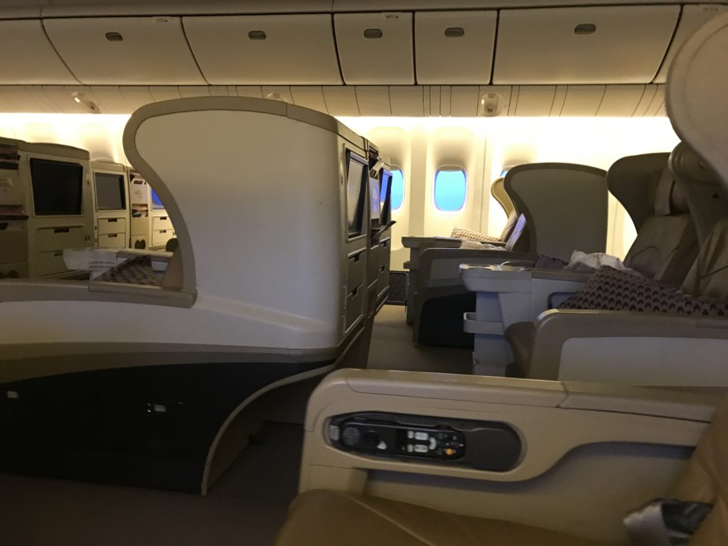 SQ Business Class SIN CGK