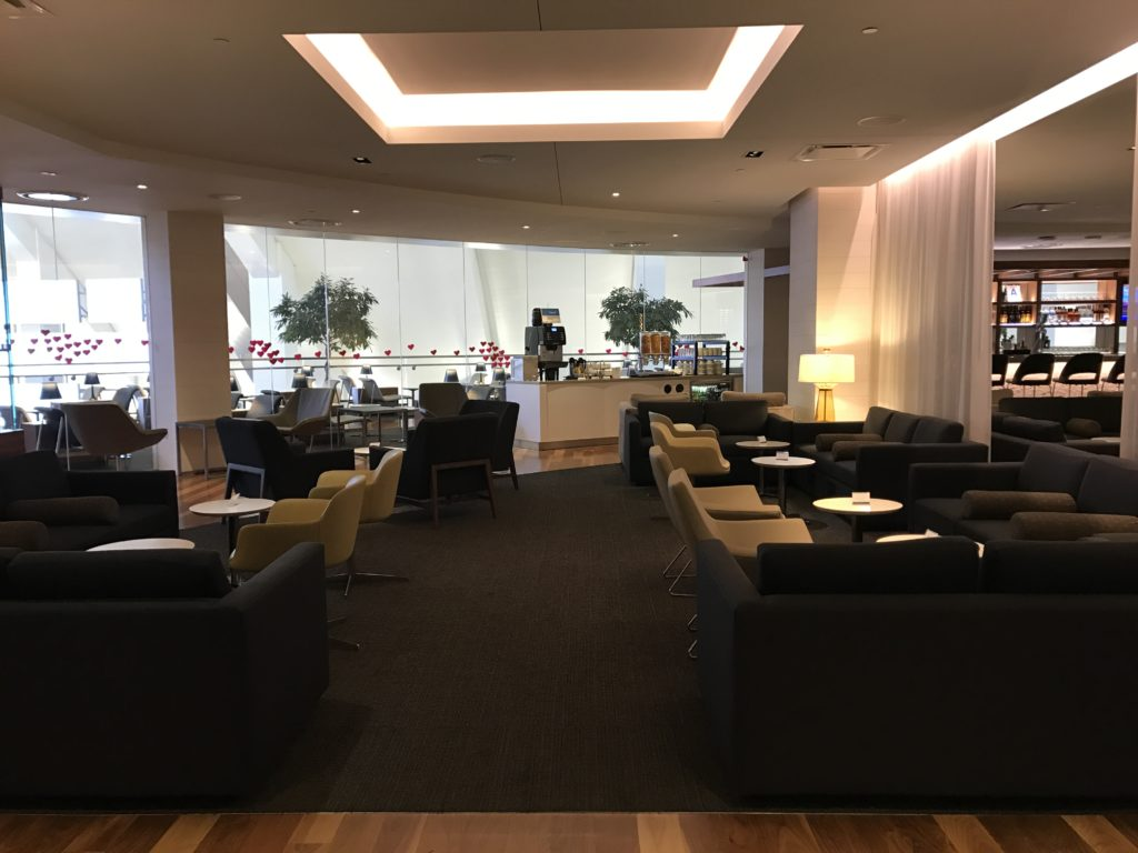 Star Alliance Lounge Area