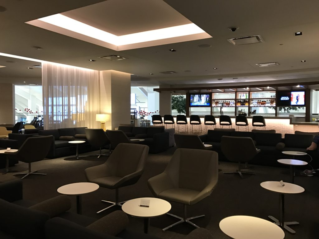 Star Alliance Lounge Area LAX
