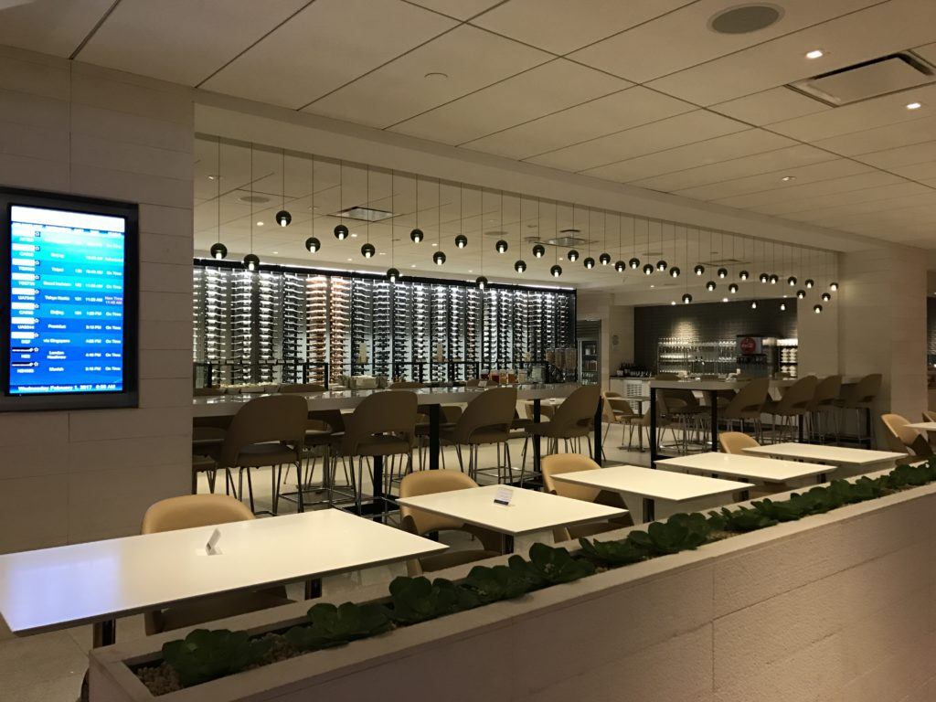 Star Alliance Lounge Dining Area