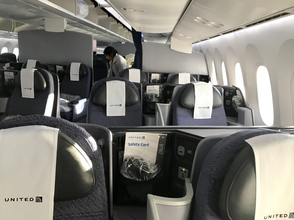 United Polaris Cabin - Window Seats