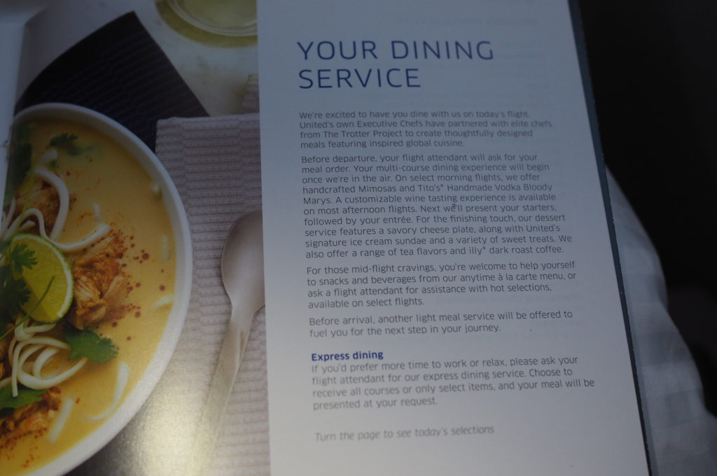 United Polaris Dining Service