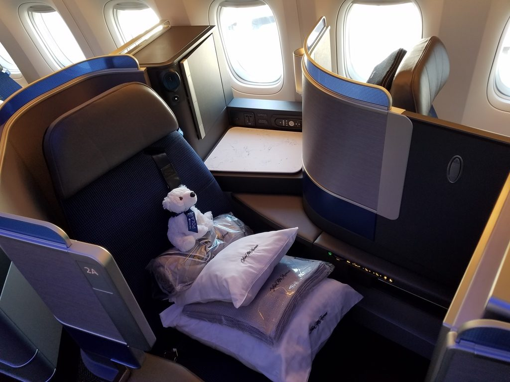 United Polaris New Business Class